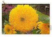 Teddy Bear Sunflower 2 Carry-all Pouch