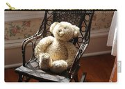 Teddy In Old Fashioned Rocker Carry-all Pouch