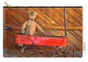 Teddy Takes A Ride Carry-all Pouch
