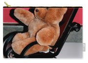 Teddy's Chair - Toy - Children Carry-all Pouch by Barbara Griffin