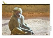 Teen Baboon Carry-all Pouch