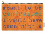 Teen Inspirational 1 Carry-all Pouch