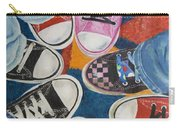 Teens In Converse Tennies Carry-all Pouch