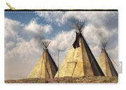 Teepees Carry-all Pouch by Daniel Eskridge