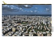 Tel Aviv Center Carry-all Pouch by Ron Shoshani