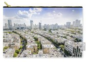 Tel Aviv Israel Elevated View Carry-all Pouch