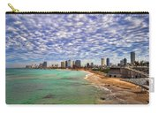 Tel Aviv Turquoise Sea At Springtime Carry-all Pouch