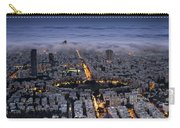 Tel Aviv Under Fog  Carry-all Pouch