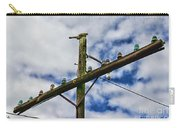 Telegraph Pole - Yesterdays Technology Carry-all Pouch