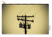 Telephone Pole 1 Carry-all Pouch