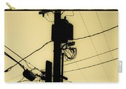 Telephone Pole 2 Carry-all Pouch