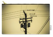 Telephone Pole 4 Carry-all Pouch