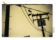 Telephone Pole 8 Carry-all Pouch