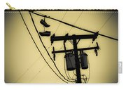 Telephone Pole And Sneakers 1 Carry-all Pouch