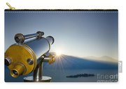 Telescope In Sunrise Carry-all Pouch