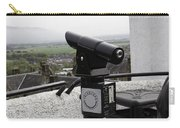 Telescope Near The Entrance Of Stirling Castle Carry-all Pouch
