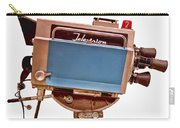 Television Studio Camera Hdr Carry-all Pouch by Edward Fielding