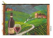 Temecula Red Carry-all Pouch
