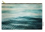 Tempest Ocean Landscape In Shades Of Teal Carry-all Pouch