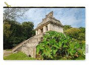 Temple And Foliage Carry-all Pouch