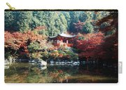 Temple Behind A Pond, Daigo-ji Temple Carry-all Pouch