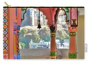 Colorful Temple Entrance - Omkareshwar India Carry-all Pouch