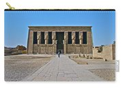 Temple Of Hathor Near Dendera-egypt Carry-all Pouch by Ruth Hager