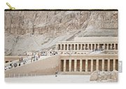 Temple Of Hatsepsut In Egypt Carry-all Pouch