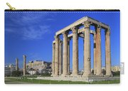 Temple Of Olympian Zeus Athens Greece Carry-all Pouch