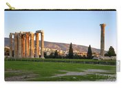 Temple Of Olympian Zeus. Athens Carry-all Pouch