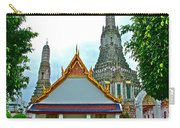Temple Of The Dawn-wat Arun In Bangkok-thailand Carry-all Pouch
