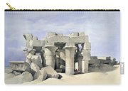 Temple On Nile Carry-all Pouch