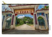Temple On The Hill Carry-all Pouch