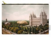 Temple Square Salt Lake City 1899 Carry-all Pouch