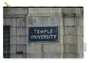 Temple U Carry-all Pouch