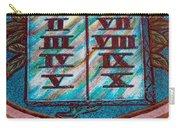 Ten Commandments Glass Carry-all Pouch