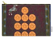 Ten Of Pentacles Carry-all Pouch