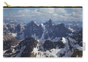 T-703502-ten Peaks From Summit Of Mt. Lefroy Carry-all Pouch
