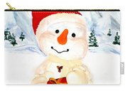 Tender Snowman Carry-all Pouch