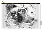 Tendrils In Pencil 01 Carry-all Pouch