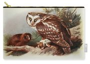 Tengmalms Owl Carry-all Pouch