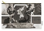 Tennessee Korean War Memorial Carry-all Pouch by Dan Sproul