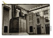 Tennessee War Memorial Black And White Carry-all Pouch