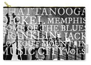 Tennessee Words Sign Carry-all Pouch by Chastity Hoff