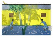 Tennis  Cuba Carry-all Pouch by Andrew Macara