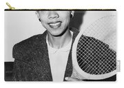 Tennis Star Althea Gibson Carry-all Pouch