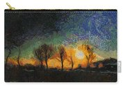 Tequila Sunrise Photo Art 01 Carry-all Pouch