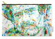Terence Mckenna - Watercolor Portrait Carry-all Pouch