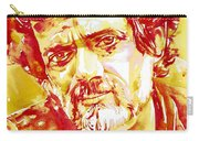 Terence Mckenna Watercolor Portrait.2 Carry-all Pouch