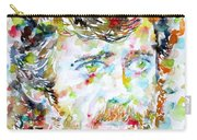 Terence Mckenna - Watercolor Portrait.3 Carry-all Pouch